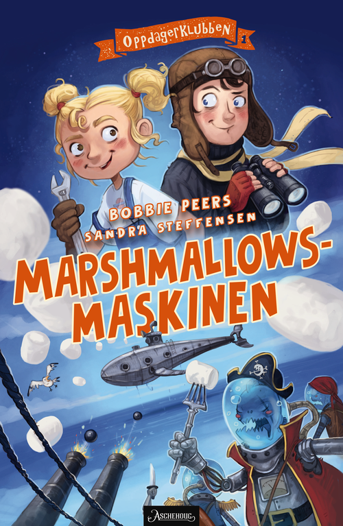 Bp   #1 marshmallowsmaskinen   norwegian cover